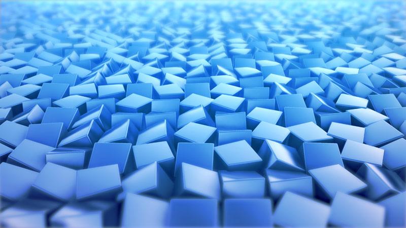 / Blue Cubes
