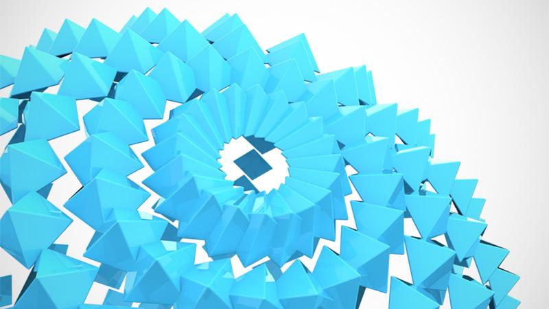 / Blue Pyramid Sphere